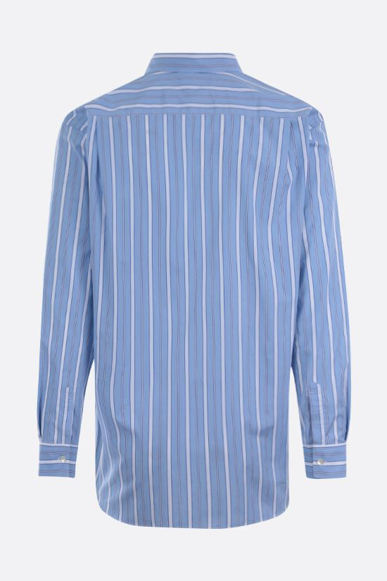 COMME des GARCONS SHIRT: striped cotton shirt Color Multicolor_2