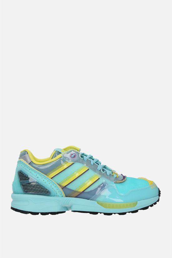 ADIDAS STATEMENT: XZ 0006 Inside Out sneakers in mesh and TPU Color Blue_1