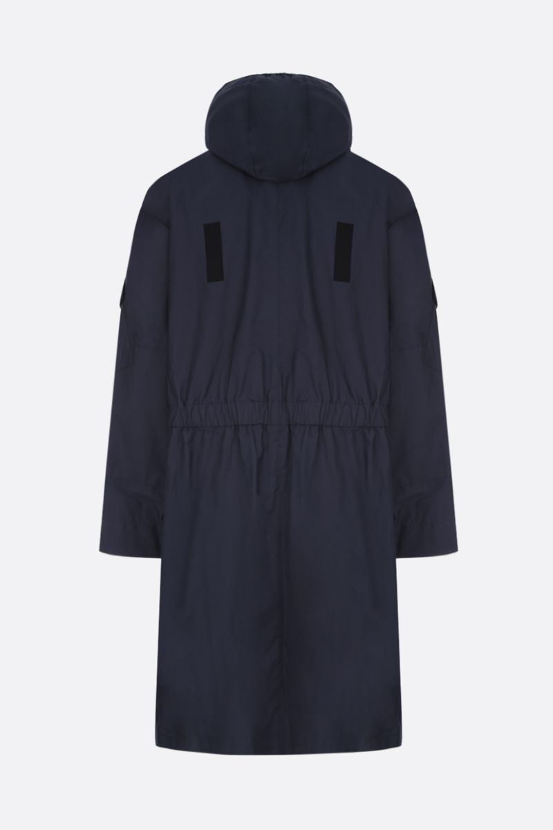 STELLA McCARTNEY: Murphy cotton blend parka Color Blue_2