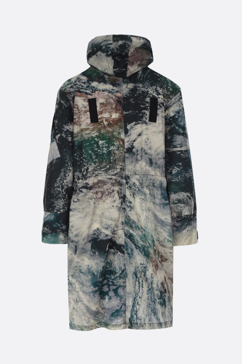 STELLA McCARTNEY: Murphy printed ECONYL® parka Color Black_2