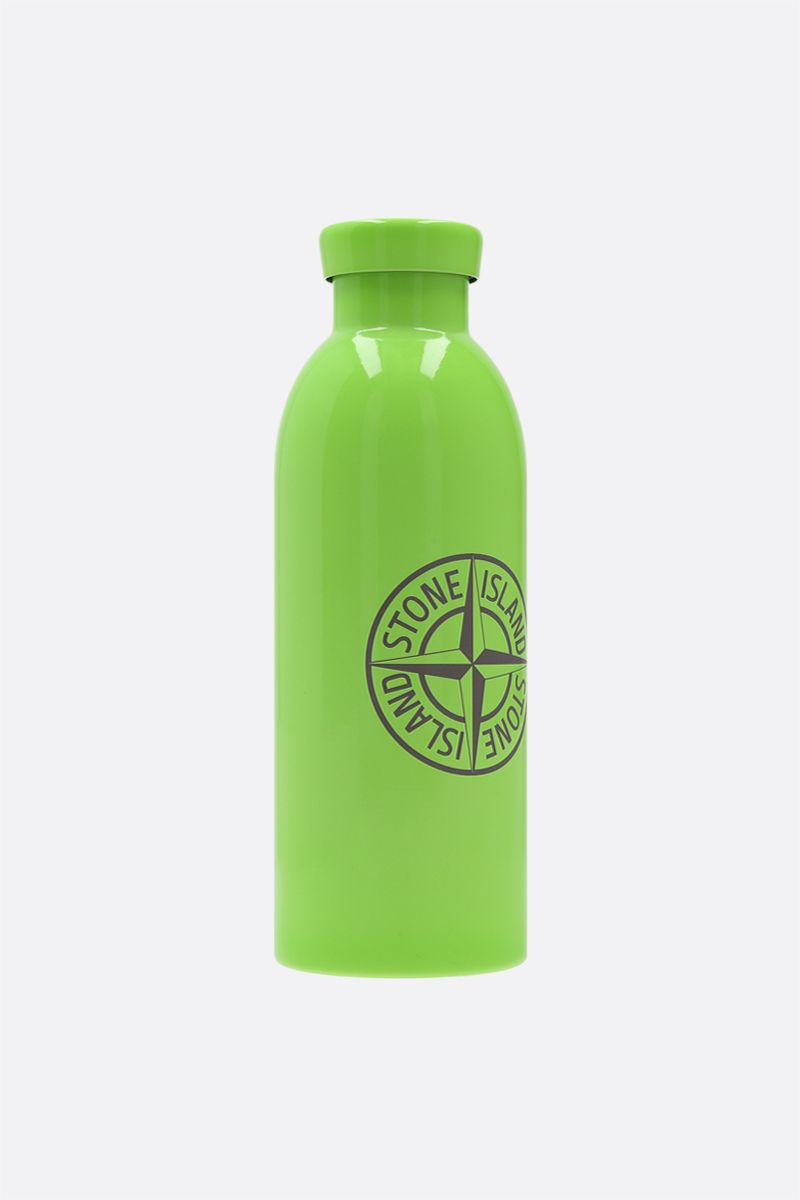 STONE ISLAND: 24 Bottles X Stone Island stainless steel water bottle Color Green_2