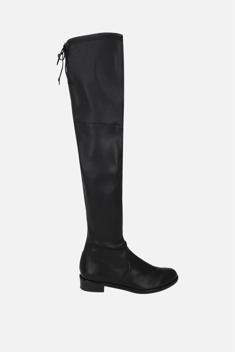 STUART WEITZMAN: Lowland stretch nappa over-the-knee boots Color Black_1