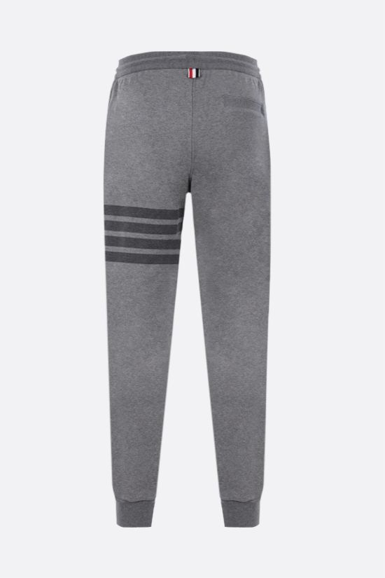 THOM BROWNE: 4-bar detailed sweatpants Color Grey_2