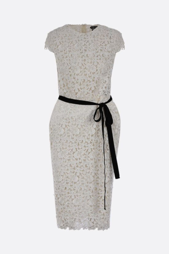 TOM FORD: floral lace pencil dress Color Multicolor_1