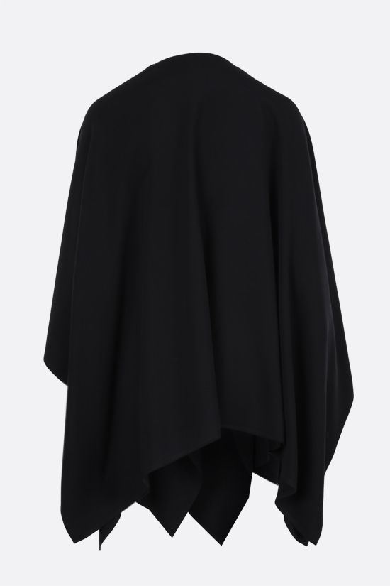 VALENTINO: cady cape Color Black_2
