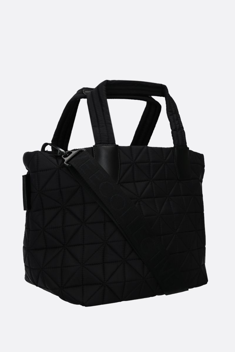 VEE COLLECTIVE: borsa tote Vee small in nylon Ripstop Colore Nero_2