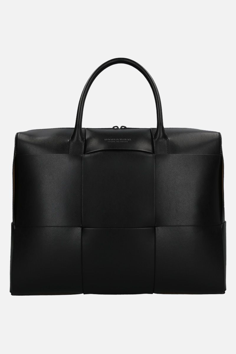 BOTTEGA VENETA: Maxi Intrecciato Cabas business bag Color Black_1