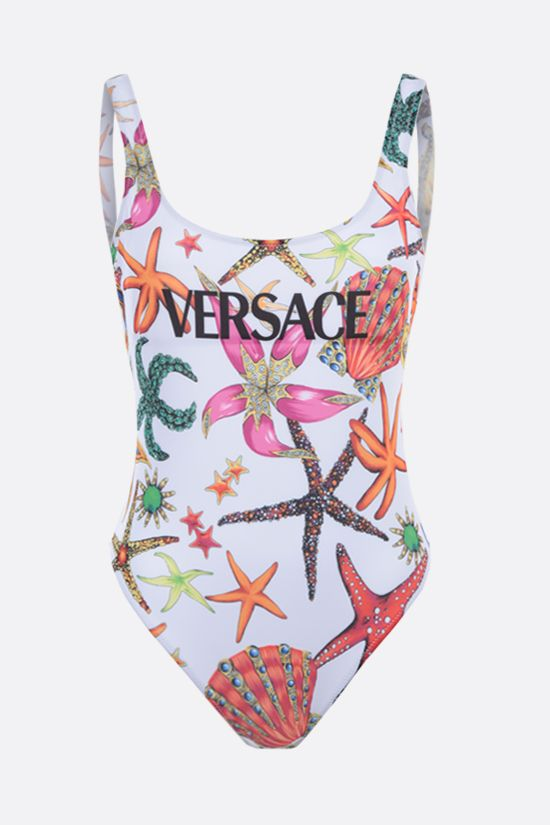 VERSACE: Trèsor de la Mer print lycra one-piece swimsuit Color Multicolor_1