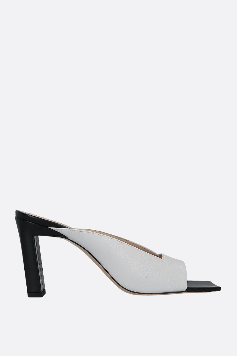 WANDLER: Isa mule sandals in soft nappa Color Black_1