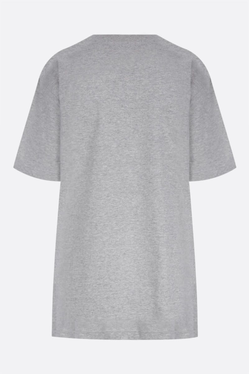 JUNYA WATANABE: t-shirt oversize Bowie in cotone Colore Multicolor_2