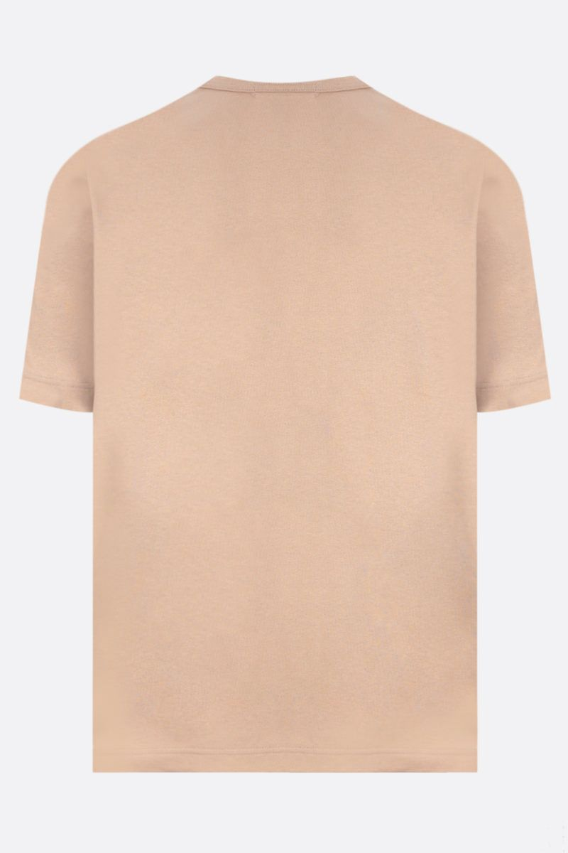 JUNYA WATANABE: t-shirt in cotone stampa The Hard Life Colore Multicolor_2