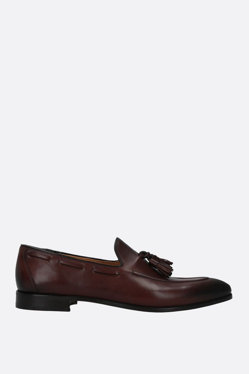 CHURCH'S: Doughton loafers in smooth leather Color Brown_1