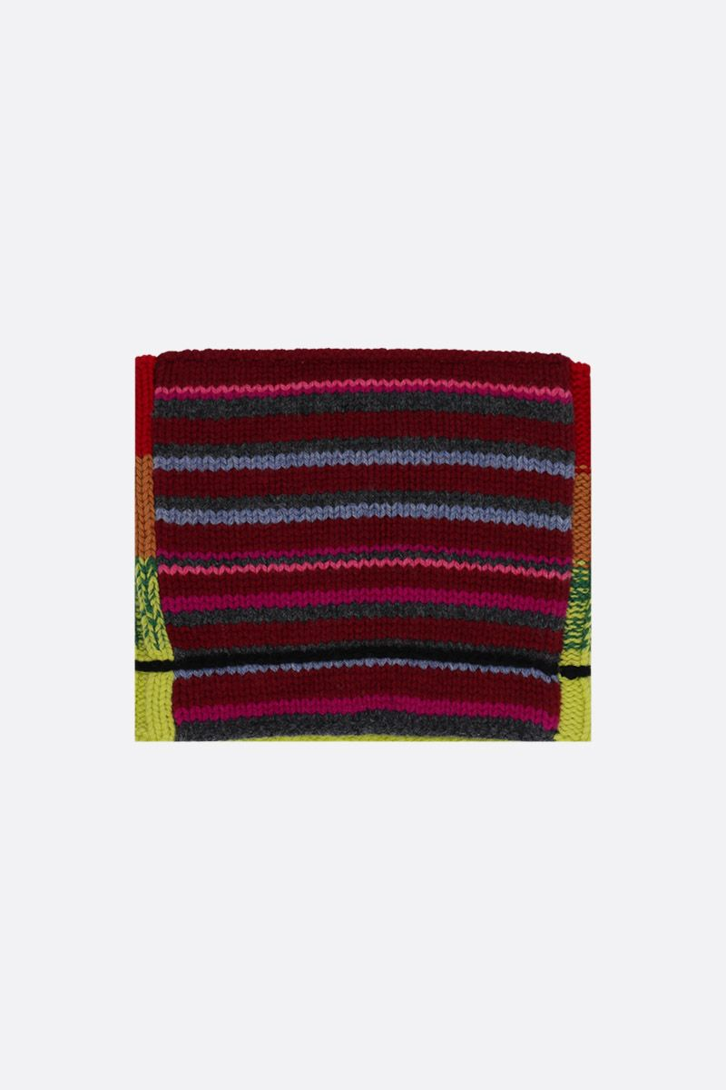 COLVILLE: multicolor wool knit collar Color Multicolor_2