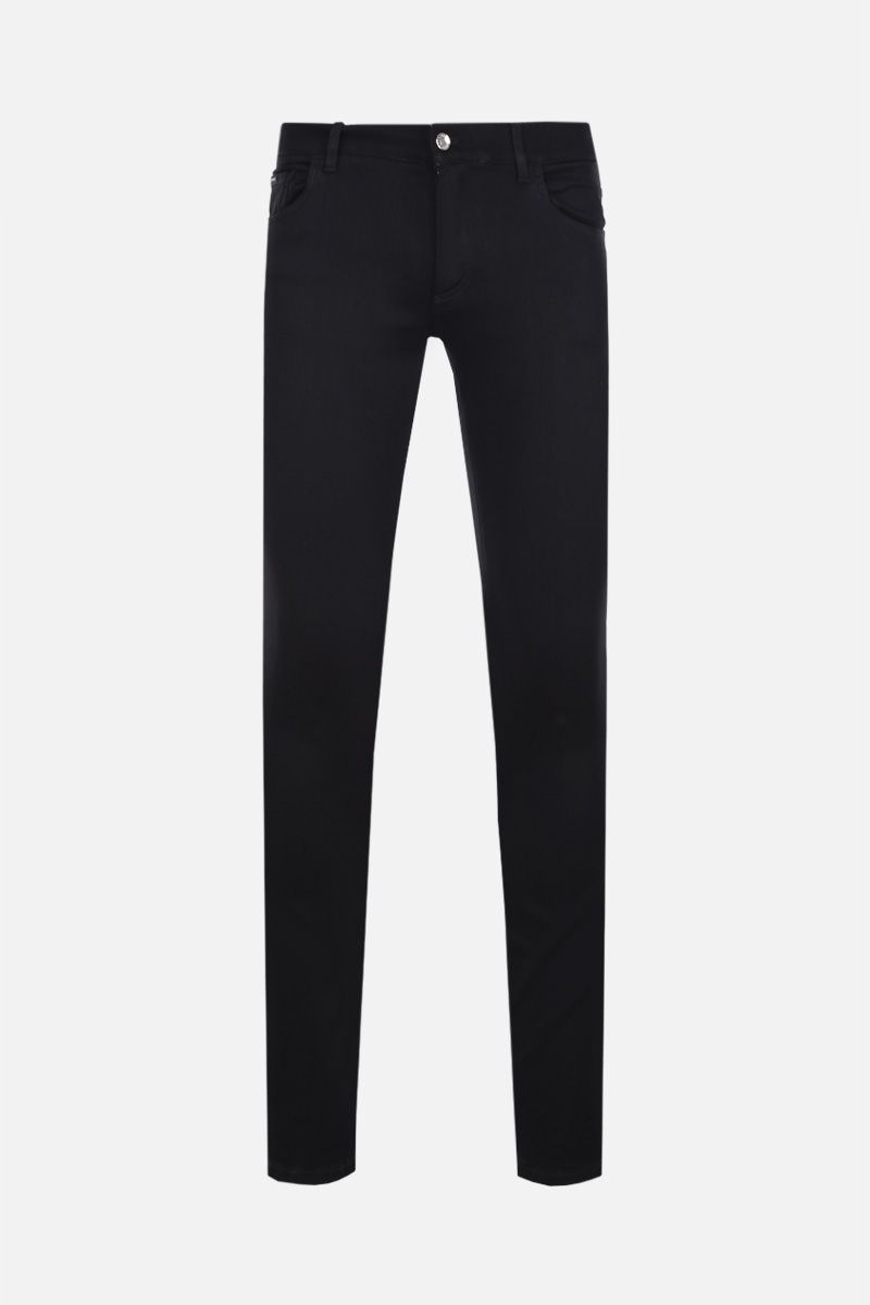 DOLCE & GABBANA: jeans running-fit Colore Nero_1