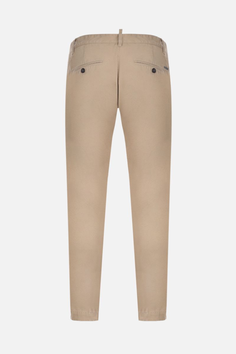 DSQUARED2: cotton chino pants Color Neutral_2