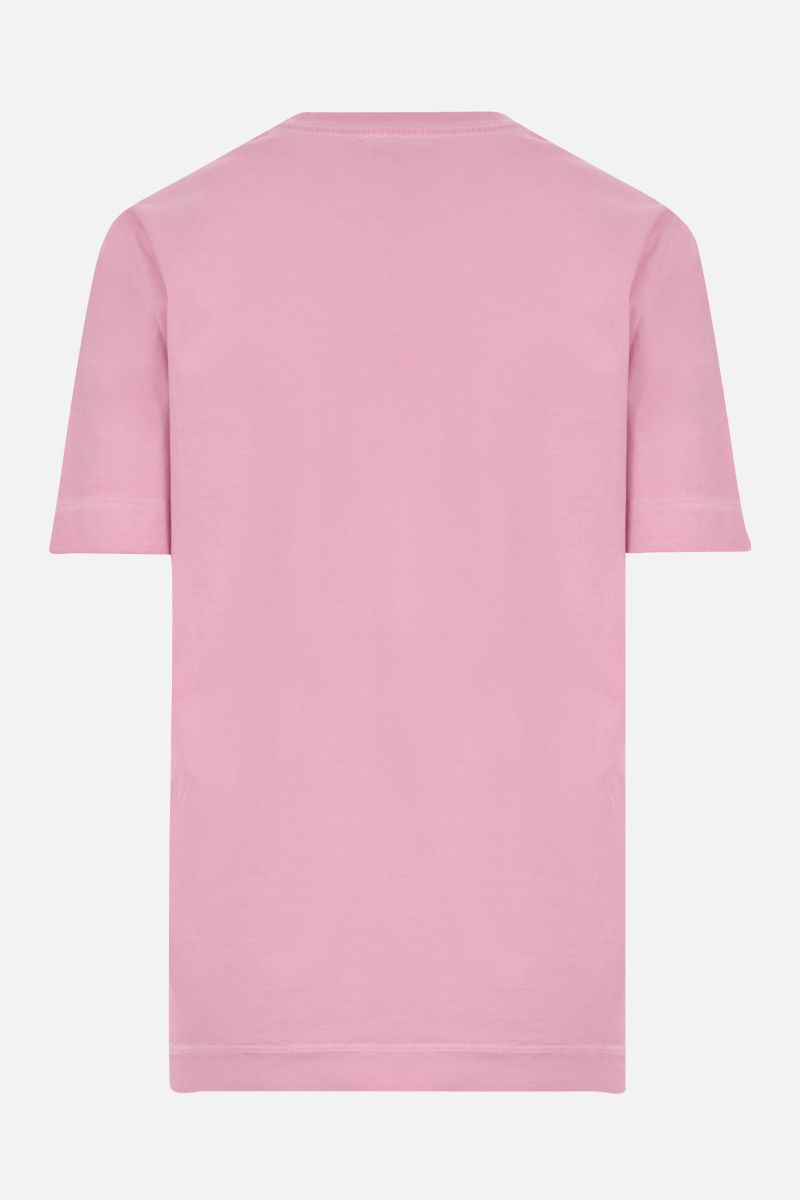 EMILIO PUCCI: Pucci Firenze print cotton t-shirt Color Pink_2