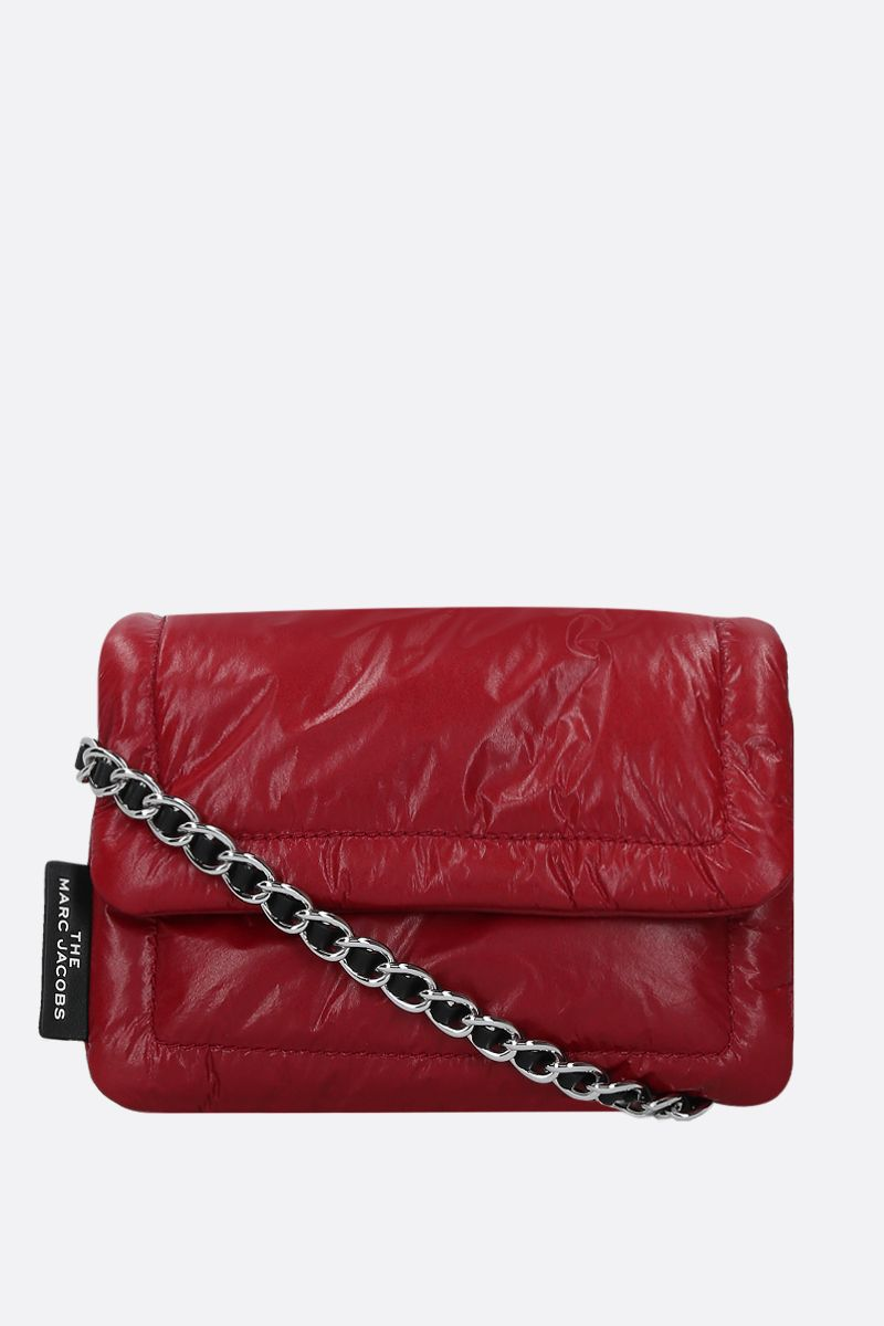 MARC JACOBS: The Mini Pillow crossbody bag in feather-light leather_1