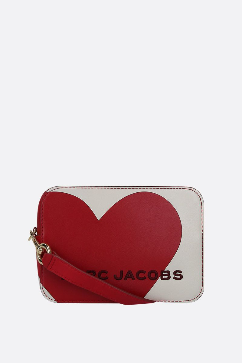 MARC JACOBS: The Heart crossbody bag in smooth leather Color Multicolor_1