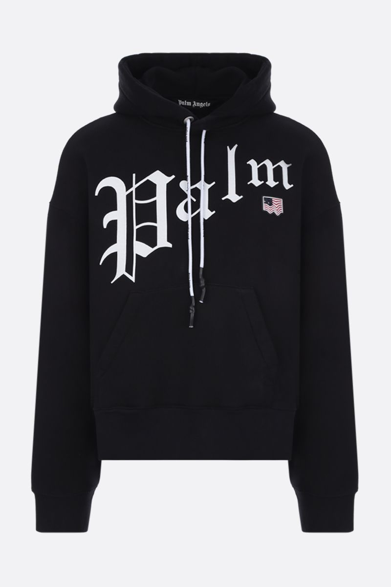PALM ANGELS: New Gothic cotton hoodie Color Multicolor_1