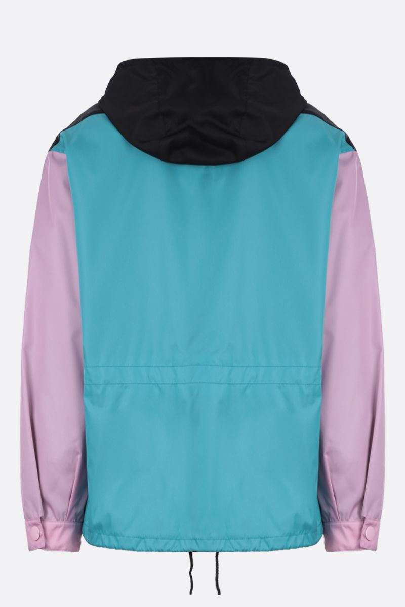 PRADA: colour-block nylon gabardine jacket_2