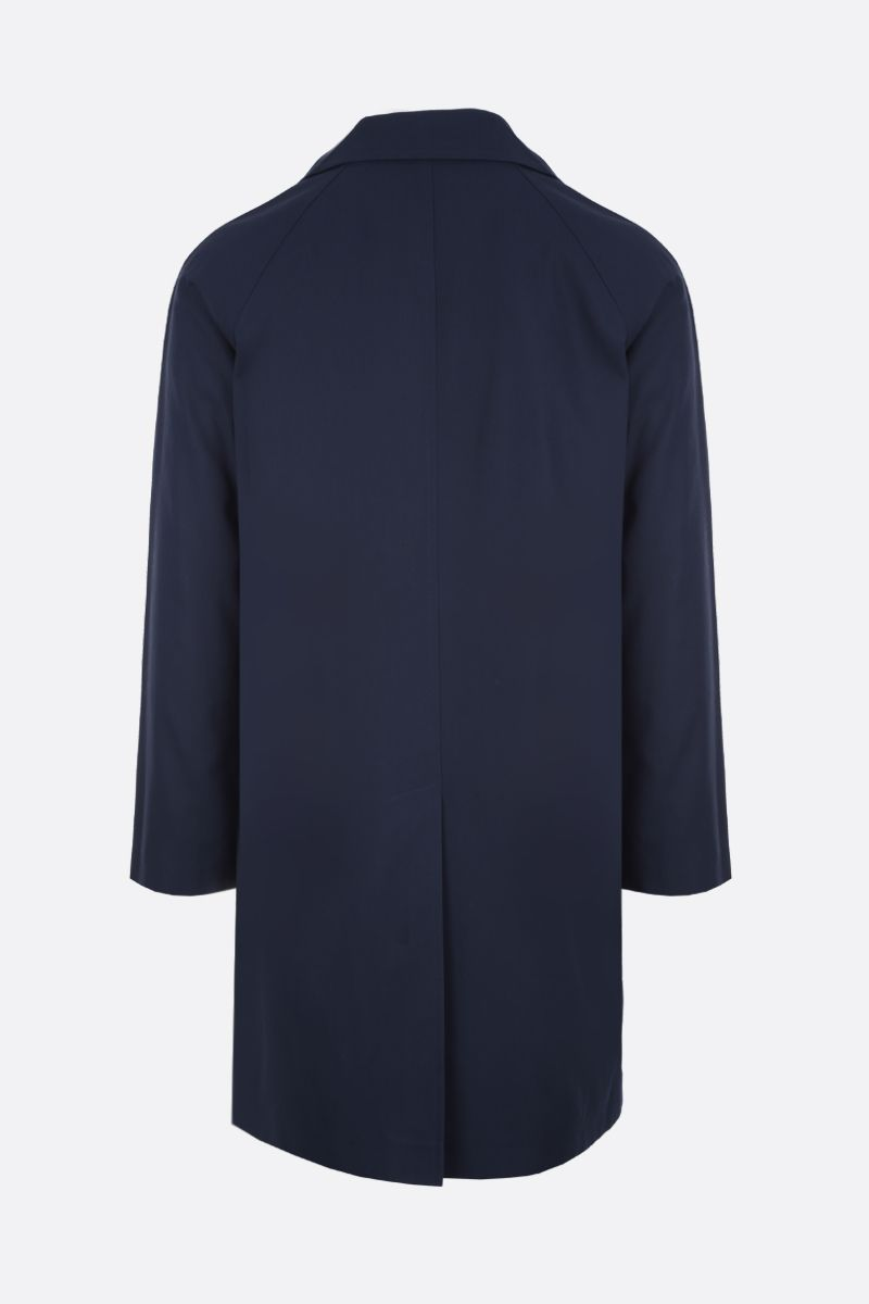 PRADA: lightweight gabardine car coat Color Blue_2