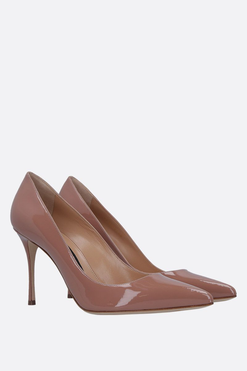 SERGIO ROSSI: Godiva pumps in patent leather_3