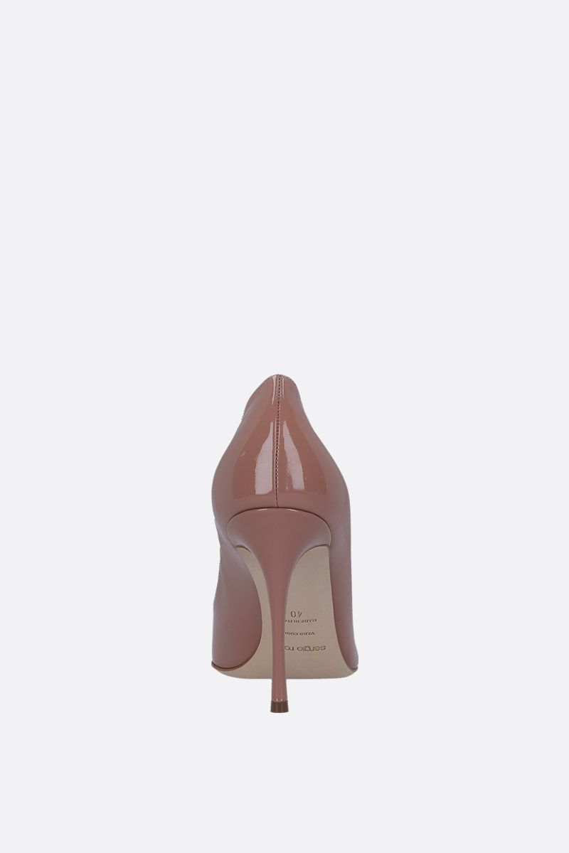 SERGIO ROSSI: Godiva pumps in patent leather_4