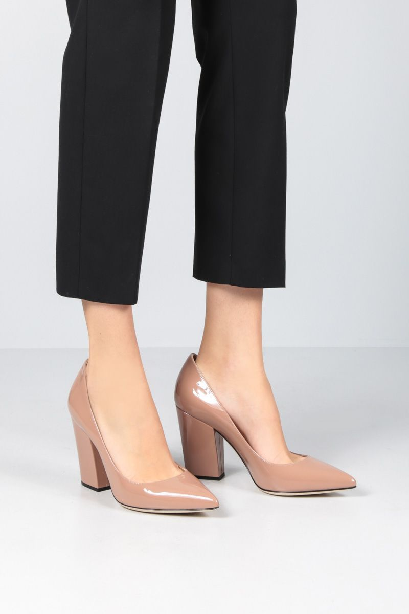 SERGIO ROSSI: Sergio pumps in patent leather_2