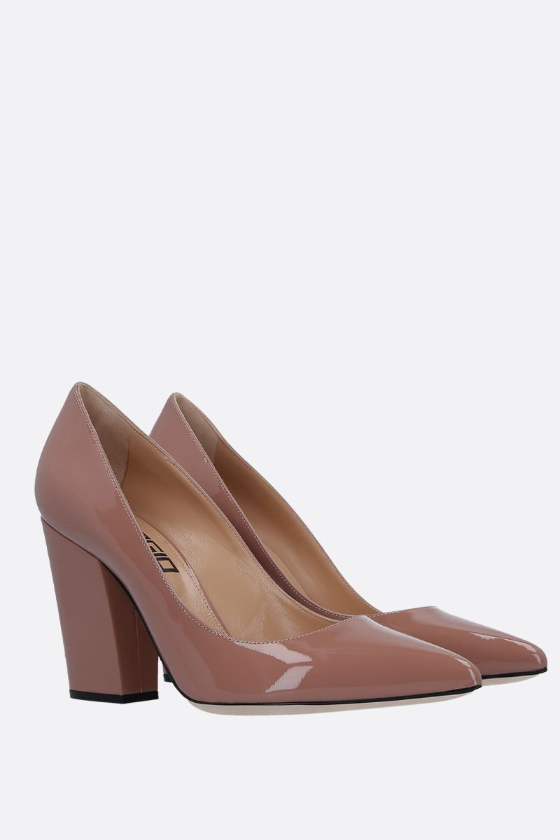 SERGIO ROSSI: Sergio pumps in patent leather_3
