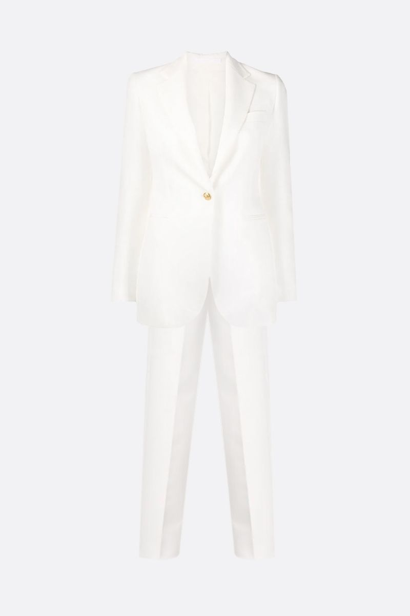 TAGLIATORE: Tabby cady two-piece suit Color White_1