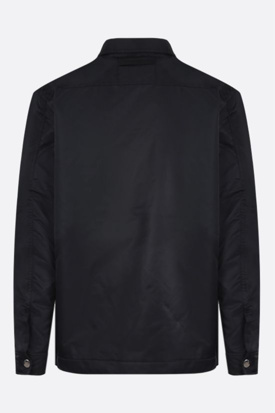 1017 ALYX 9SM: oversize nylon padded overshirt Color Black_2