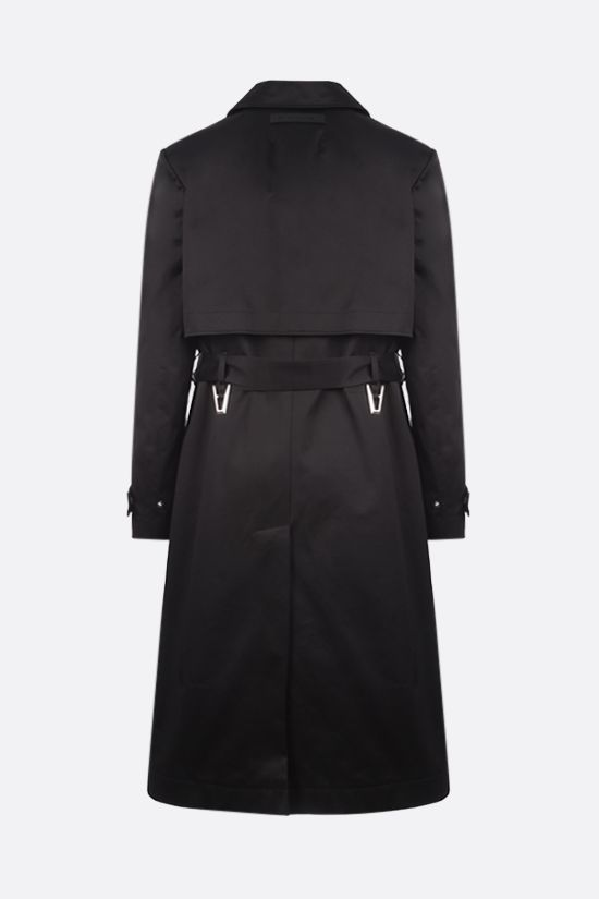 1017 ALYX 9SM: single-breasted cotton trench coat Color Black_2