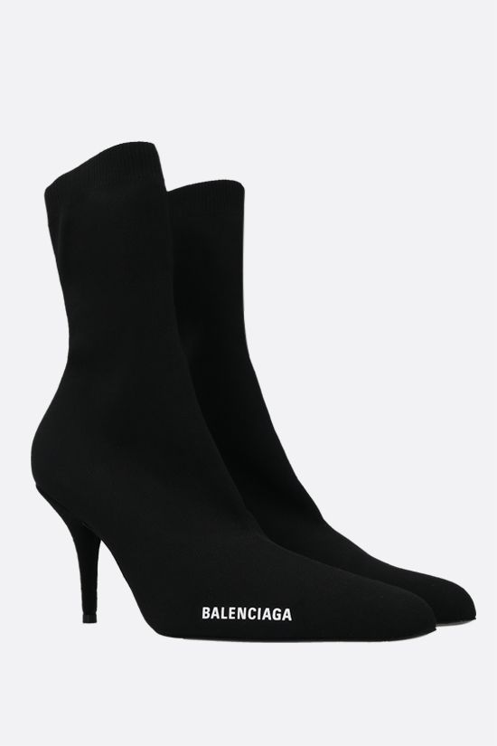 BALENCIAGA: Knife stretch knit booties Color Black_2