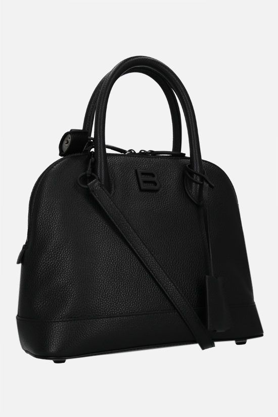 BALENCIAGA: Ville Supple S grainy leather handbag Color Black_2