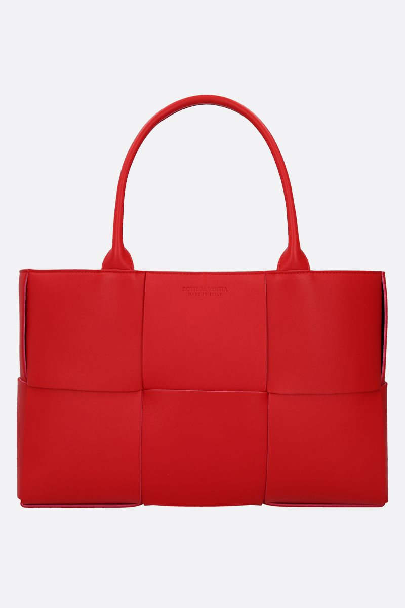 BOTTEGA VENETA: Arco tote bag in Maxi Intrecciato nappa_1