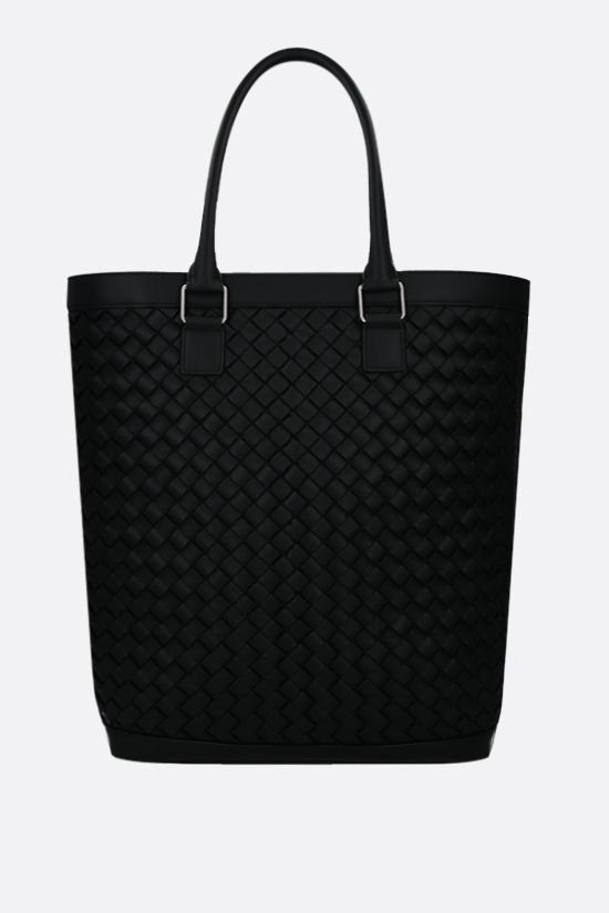 BOTTEGA VENETA: Intrecciato VN shopping bag Color Black_1