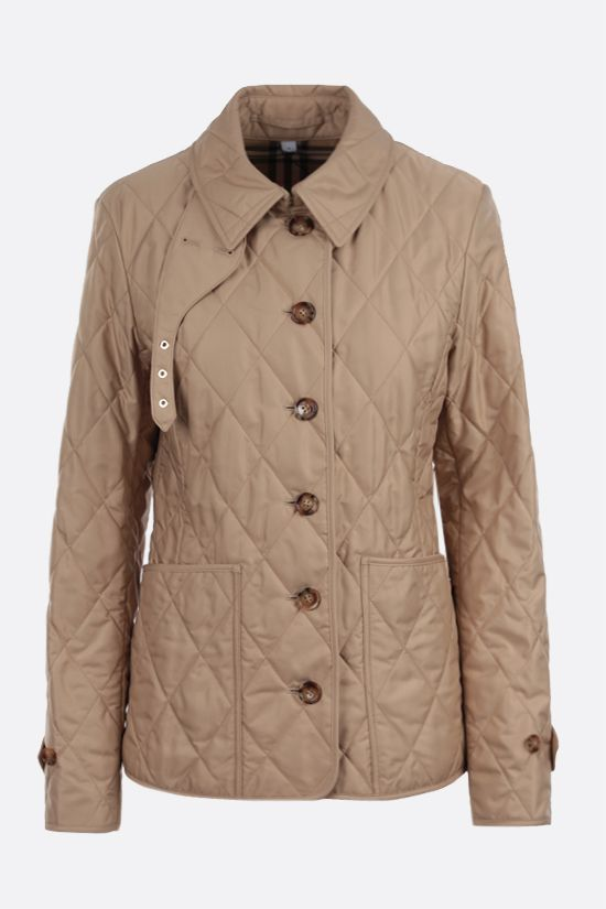 BURBERRY: Fernleigh nylon quilted jacket_1