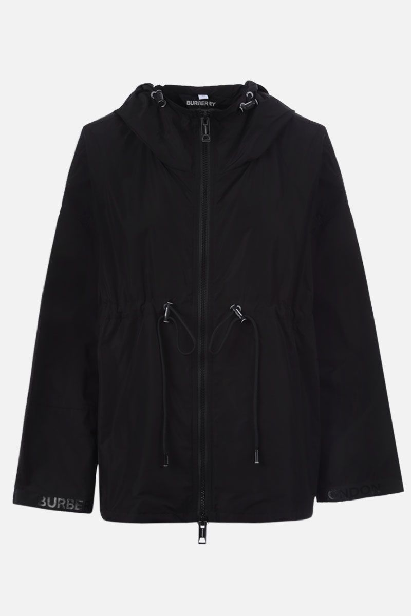 BURBERRY: Bacton nylon parka Color Black_1