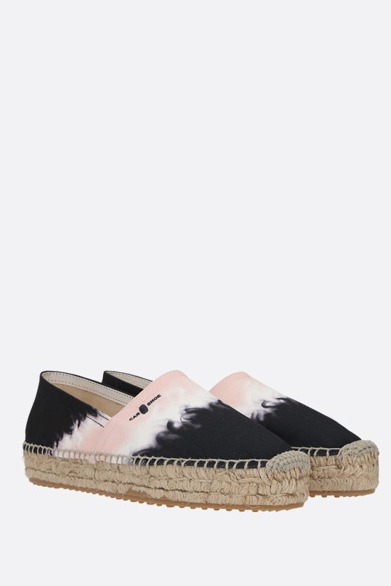 CAR SHOE: espadrilla in canvas stampato Colore Rosa_2