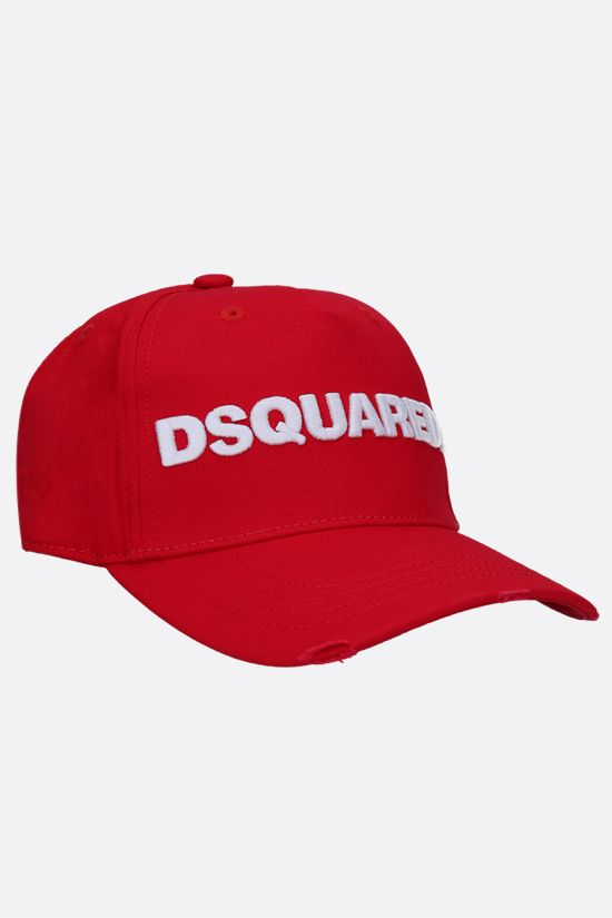 DSQUARED2: Dsquared2 cotton baseball cap Color Red_2