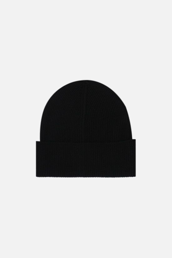 DSQUARED2: Dsquared2 wool beanie Color Black_2