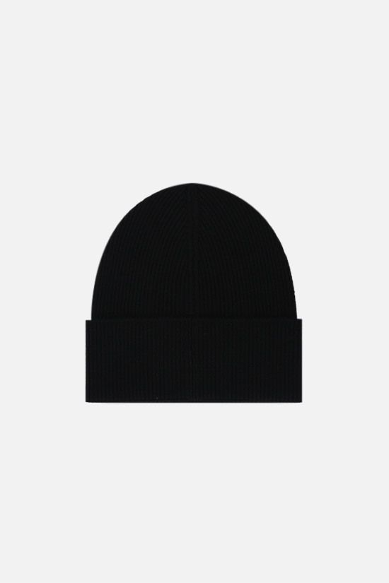 DSQUARED2: Canadian Icon wool beanie Color Black_2