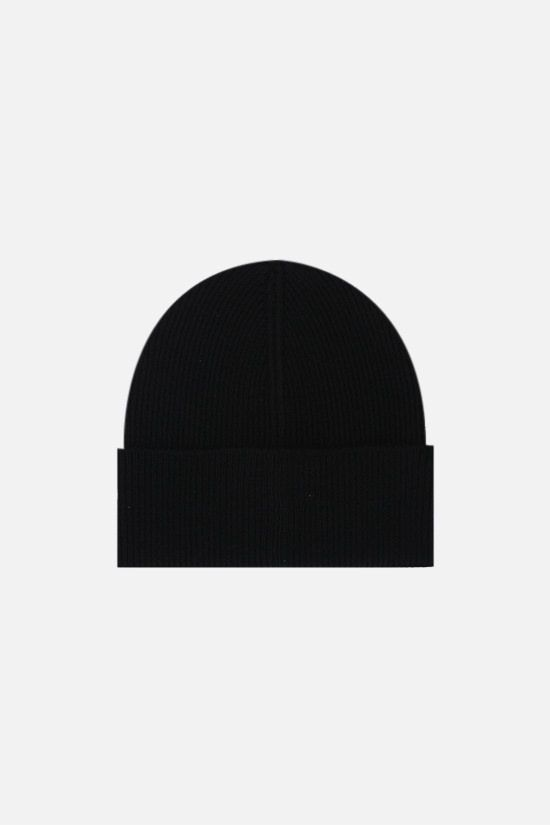DSQUARED2: Icon Dsquared2 wool beanie Color Black_2