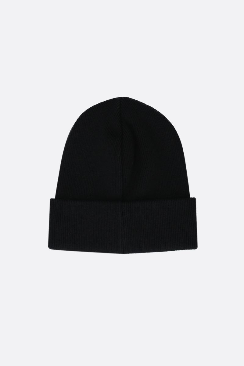 DSQUARED2: Icon wool beanie Color Black_2