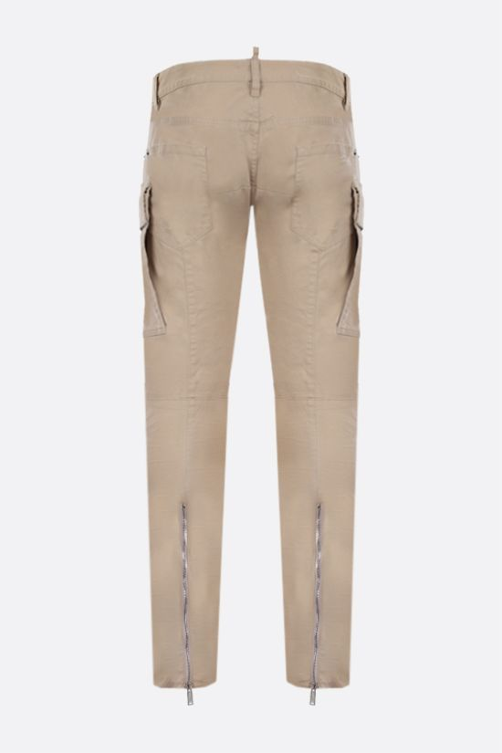 DSQUARED2: Sharpei cotton cargo pants Color Neutral_2