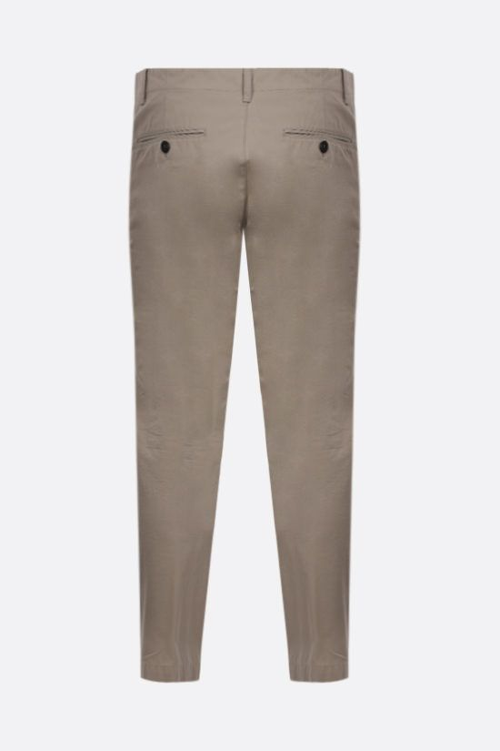 DSQUARED2: cotton chino pants Color Grey_2
