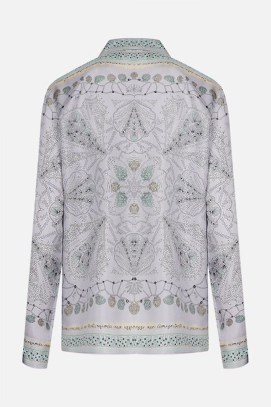 EMILIO PUCCI: seashell print silk shirt Color Purple_2