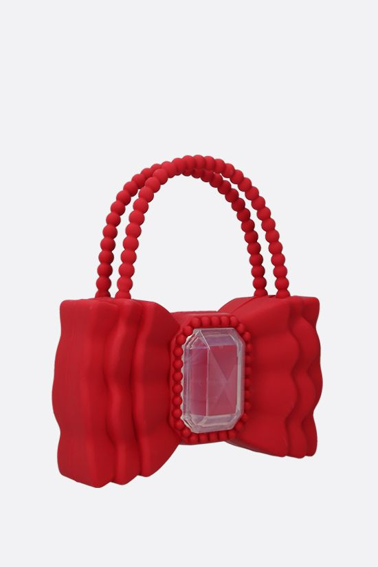 FORBITCHES: Bow TPU handbag Color Red_2