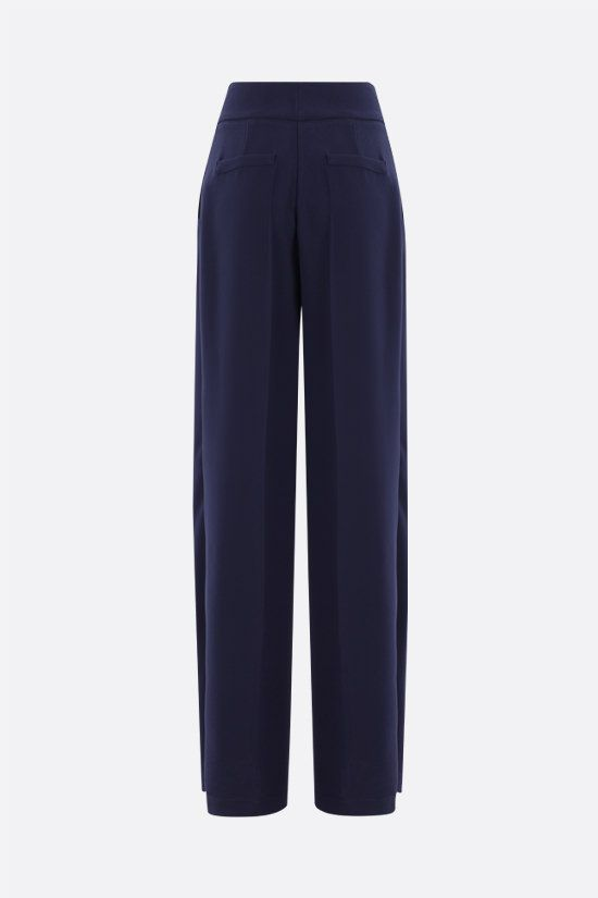 HEBE STUDIO: Girlfriend cady wide-leg pants Color Blue_2