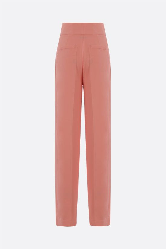HEBE STUDIO: Girlfriend cady wide-leg pants Color Pink_2